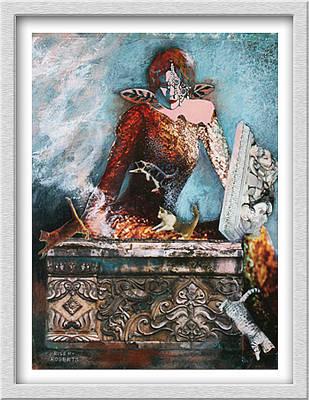 Painting - Pandora's Box by Eve Riser Roberts