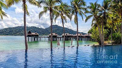 Malaysia Digital Art - Pangkor Laut Bay by Adrian Evans