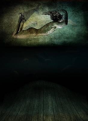 Angst Photograph - Panic by Johan Lilja