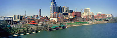 Cumberland River Photograph - Panoramic Morning View Of Cumberland by Panoramic Images