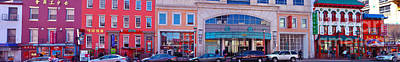 Panoramic Of Chinatown Stores Original by Frank Williams