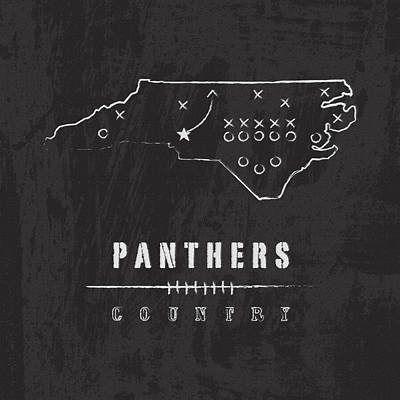 Panther Digital Art - Panthers Country by Damon Gray
