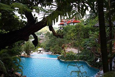 Asian Photograph - Panviman Chiang Mai Spa And Resort - Chiang Mai Thailand - 011324 by DC Photographer