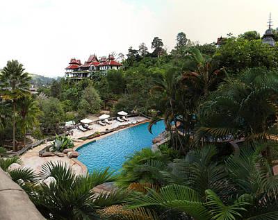 Panviman Chiang Mai Spa And Resort - Chiang Mai Thailand - 011330 Print by DC Photographer