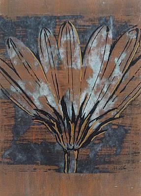Paper Flower Print by Megan Washington
