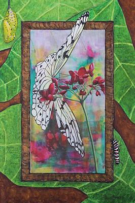 Paper Kite Landing Original by Patricia Pasbrig
