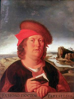 1493 Photograph - Paracelsus by Universal History Archive/uig