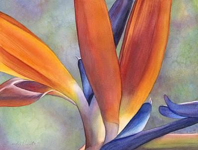 Paradise Bird Original by Sandy Haight