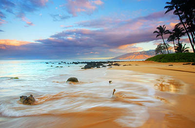 Scenic Photograph - Paradise Dawn by Mike  Dawson