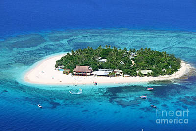Paradise Island In South Sea IIi Print by Lars Ruecker