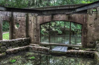 Paradise Springs Spring House Interior 5 Print by The  Vault - Jennifer Rondinelli Reilly