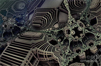 Parallel World 4 Print by Evgeniy Lankin