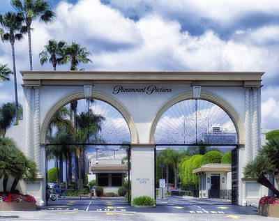 Paramount Pictures Print by Mountain Dreams