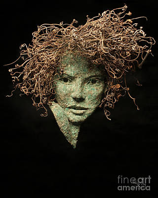 Tendrils Mixed Media - Paramour by Adam Long