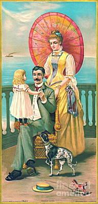 Parasol 1889 Print by Padre Art