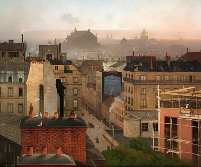 1880s Painting - Paris 1887 by Mountain Dreams