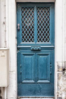 Paris Blue Print by Georgia Fowler
