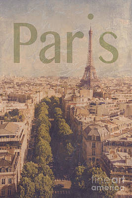 Paris Photograph - Paris by Diane Diederich