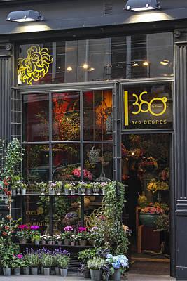 Paris Flower Shop Print by Glenn DiPaola