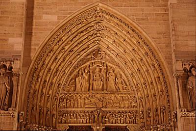 Details Photograph - Paris France - Notre Dame De Paris - 01136 by DC Photographer