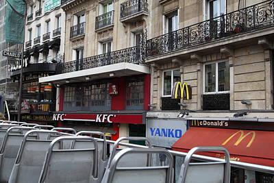 Scenes Photograph - Paris France - Street Scenes - 0113130 by DC Photographer