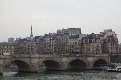 Paris France - Street Scenes - 011343 Print by DC Photographer