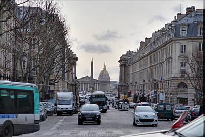 Paris France - Street Scenes - 011394 Print by DC Photographer