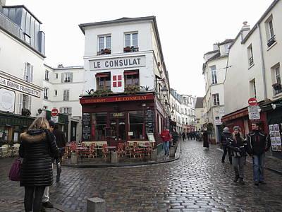 Chair Photograph - Paris France - Street Scenes - 121219 by DC Photographer