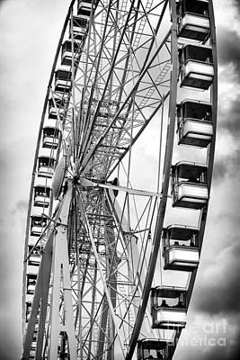 Roller Coaster Photograph - Paris Fun by John Rizzuto