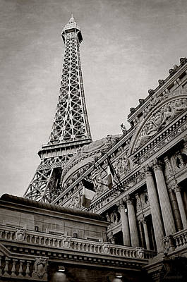 Paris Hotel Print by Maria Angelica Maira