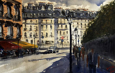 Relating Painting - Paris IIi by James Nyika