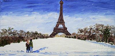 Paris Romance Print by Kevin Croitz