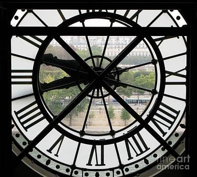 Paris Time Print by Ann Horn