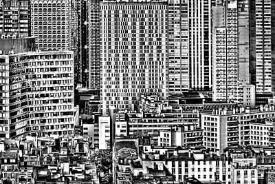 Rooftop Photograph - Paris Urban by Olivier Le Queinec