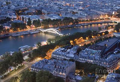 Paris View Print by Ivete Basso Photography