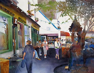 Ressler Painting - Parisian Landmarks by John Ressler