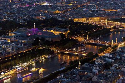 France La Madeleine Photograph - Parisian Night by Maj Seda