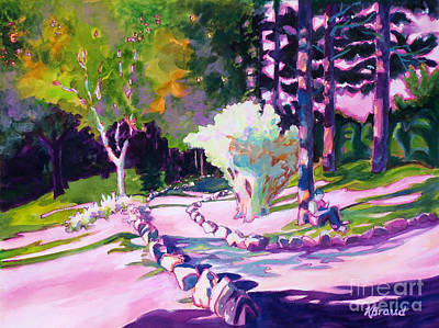 Relax Painting - Park Trails 2           by Kathy Braud