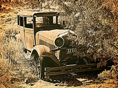 Old West Photograph - Parked 3 by Leland D Howard