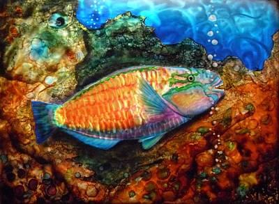 Parrot Fish Original by Nick Knezic