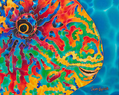 Parrotfish Original by Daniel Jean-Baptiste