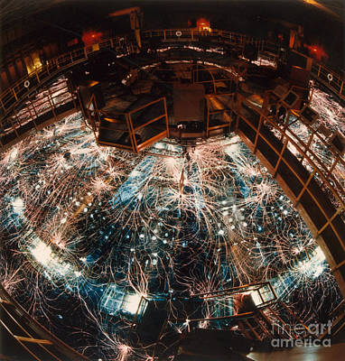 Particle Accelerator Print by Science Source