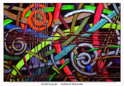 Particle Track Twenty-eight Print by Scott Wallin