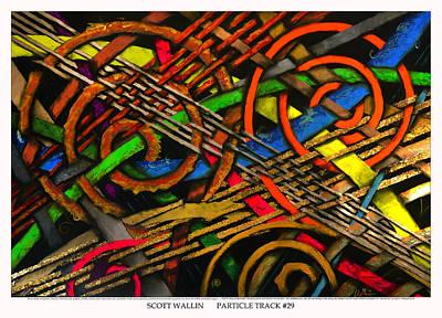 Particle Track Twenty-nine Print by Scott Wallin