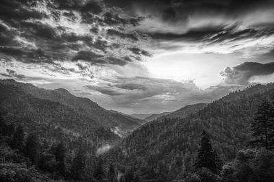 Parting Clouds Print by Andrew Soundarajan