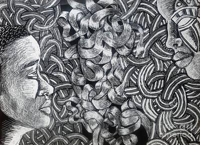 Partition Print by Vashti Blackmon