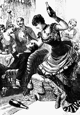 Party, 1886 Print by Granger