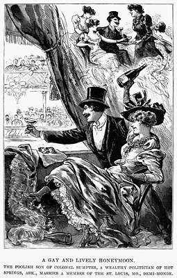 Party, 1892 Print by Granger