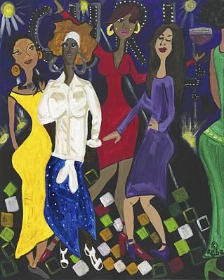 Party Girls Original by Reba Baptist