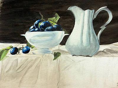 Brunch Painting - Brunch In The 1920s by Lameya Aamir
